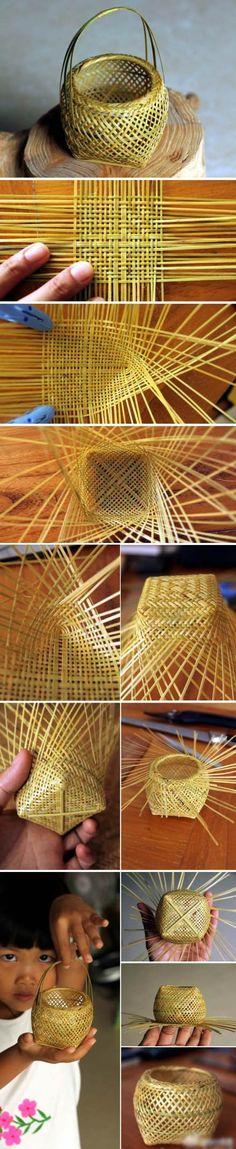 Diy Bamboo Basket
