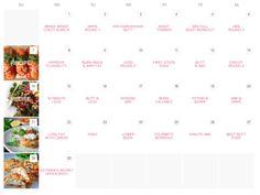 Fitness Calendar — Rebecca-Louise