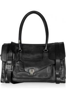 PS1 Travel Large leather tote