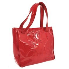 Chanel Triple Cc Logos Hand Patent Leather Vintage Italy Fa01844 RED Tote Bag. Get one of the hottest styles of the season! The Chanel Triple Cc Logos Hand Patent Leather Vintage Italy Fa01844 RED Tote Bag is a top 10 member favorite on Tradesy. Save on yours before they're sold out!