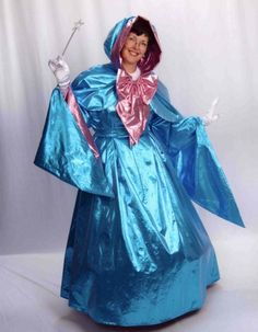 Adult Size Cinderella's Fairy Godmother Costume Disney by Dress Up Costumes, Diy Costumes, Adult Costumes, Halloween Costumes, Costume Ideas, Awesome Costumes, Creative Costumes, Disney Halloween, Halloween Fun