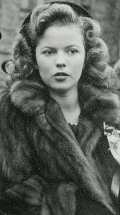 Shirley Temple at 16.