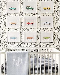 Cool parents hang #lesleemitchellart in their baby's room. @maureens9
