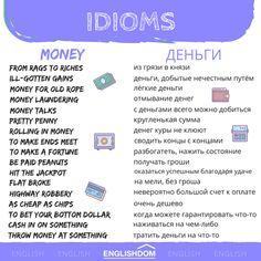 English Speech, English Grammar For Kids, English Idioms, English Phrases, Learn English Words, English Study, English Lessons, English Vocabulary, Russian Language Learning