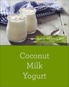 Amazing dairy-free, Coconut Milk Yogurt recipe!