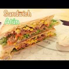 Sandwich de Atún *~*