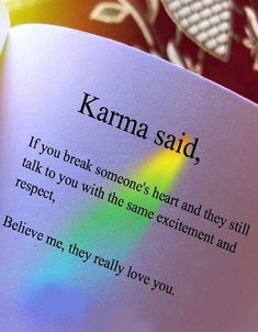 Karma quotes on true love ft. Quotes Deep Feelings, Mood Quotes, Positive Quotes, Qoutes Deep, Feeling Hurt Quotes, Quotes App, Advice Quotes, Crush Quotes, Lyric Quotes
