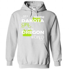 (SDXanhChuoi001) Just A South Dakota Girl In A Oregon W - #gift for him #gift card. CLICK HERE => https://www.sunfrog.com/Valentines/-28SDXanhChuoi001-29-Just-A-South-Dakota-Girl-In-A-Oregon-World-White-Hoodie.html?68278