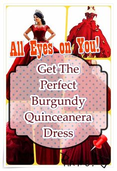 Burgundy Quinceanera dress searching can be one of the worst and best portions of event preparation. To keep your sanity in order, check out our tips, which includes style, size. Burgundy Quinceanera Dresses, All About Eyes, Our Girl, Big Day, Fashion Show, How To Memorize Things, Princess, Celebrities, Searching