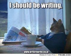 Writing Cat - Writers Write Creative Blog