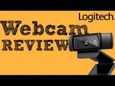 Logitech c920 Webcam REVIEW (HD Web Cam) - YouTube