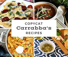 14 Copycat Carrabbas Recipes | Make these delicious copycat recipes from the comfort of your own kitchen!