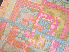 Midwest Modern quilt block by alobsiger, via Flickr