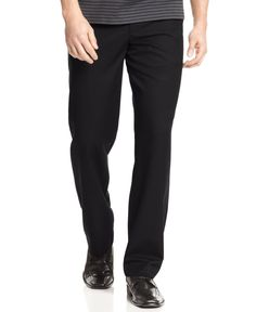 Calvin Klein Core Solid Straight Fit Pants