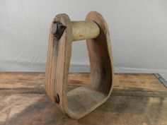 Rustic Wood Stirrup from Horse Saddle Bentwood Wooden Wall Hanging Country Decor Primitive Western Farmhouse Americana by WesternKyRustic on Etsy