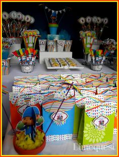 Toda la ternura y el color de Pocoyo y sus amigos en esta mesa que viajó a Córdoba..                                                      ...