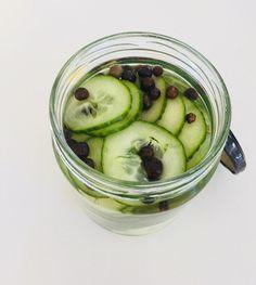 Syltede agurker Sous Vide, Meal Prep, Food Prep, Pickles, Cucumber, Marmalade, Food Preparation, Pickle, Meal Planning