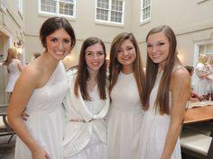 Ole Miss Kappa Delta Freshman Initiation 2014