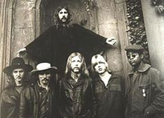 Allman Brothers..saw them when they were introduced at The Atlanta Pop Festival.....blew us away!