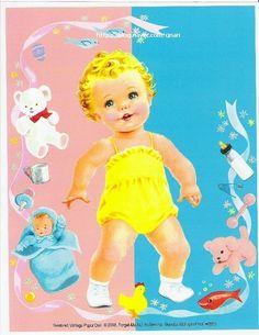 종이인형 (Three sweet Baby Dolls)