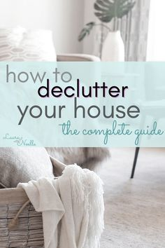 The most challenging part of decluttering is getting started. Learn 6 simple steps for how to declutter your house when you don't know where to start!