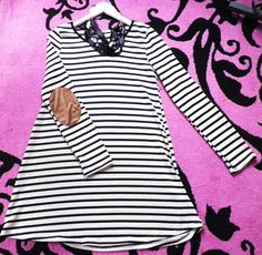 NEW striped dress: $32.95 Necklace: $21.95