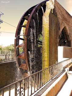 Waterwheel La Ñora by Sergisangosto  on 500px