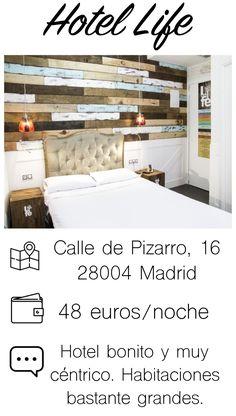 Hace unos años que decidí afincarme en #Madrid y, a veces, cuando recibo visitar excesivamente numerosas que mi casa no puedo absorber, tengo que buscar joyas de hoteles como es este hotel. Buen precio y una ubicación más que excelente.