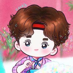 Exo Kokobop, Kpop Exo, Exo Cartoon, Chibi, Exo Stickers, 5 Years With Exo, Exo Anime, Exo Lockscreen, Exo Fan Art