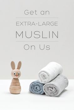 Get an extra large muslin on us! Browse Our Incredibly Soft Organic Baby Essentials