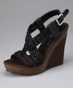 This pretty wedge set gives a boost in style along with height, pairing perfectly with everything from cropped jeans to short skirts. These wonderful wedges are the definition of casually chic fashion.