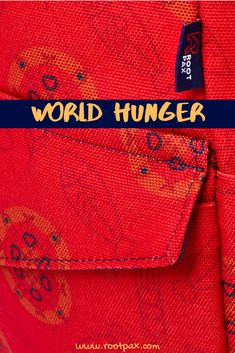 World Hunger Backpack Colorful Backpacks, Cool Backpacks, Going To Bed Hungry, World Hunger, Food Insecurity, Did You Know Facts, Beach Bags, Food Waste, Helping People