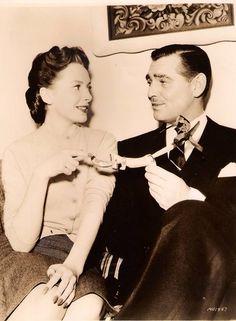 Clark Gable and Deborah Kerr 1947