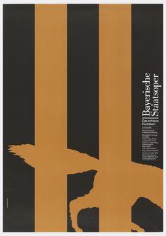 Poster, Bayerische Staatsoper:  Das schlaue Fuchslein, Leos Janacek, 2002