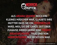Ein richtig hübscher Serienkiller #horrorfakten #arianagrande