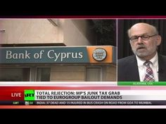 Cyprus vs Bankocracy: 'Mattress better place to keep cash than banks' VIDEO: