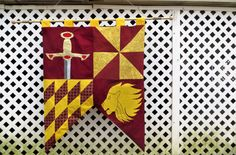 It takes a great deal of bravery to stand up to our enemies, but just as much to stand up to our friends. — Albus Dumbledore, Harry Potter and the Sorcerers Stone  My Harry Potter Gryffindor banner will show off your inner lion. Check it out along with my other  Hogwarts House banners.   #harrypotter #hogwarts #gryffindor #hogwartshouses #lion #fabric #handmade #madeindc #etsy #etsyshop #etsyitem #wallart #wallhanging #tapestry #banner #decor #sewing #smallbusiness #shopsmall