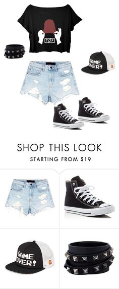 """""""cool lady"""" by seka-247 ❤ liked on Polyvore featuring Alexander Wang, Converse, Vans and Valentino"""