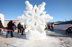 Be sure not to miss the ice carvings at the Fur Rondy celebration. | Photo by Brian Adams
