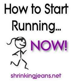 Not sure HOW to start running? We can help you! #c25k