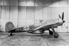 Focke-Wulf FW-190V18-U1 (W  Nr. 0036) 3rd Series C Prototype of Fw-190 High Altitude Fighter Powered By: