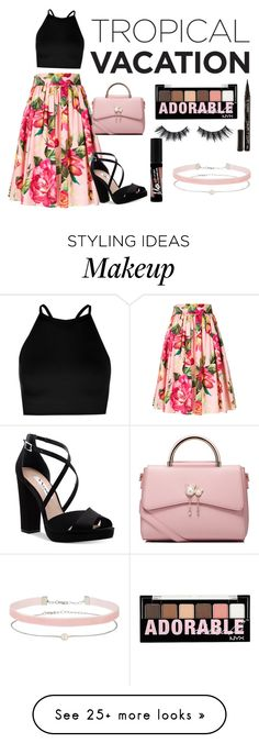 """pink-ish"" by dreyy14 on Polyvore featuring Dolce&Gabbana, Boohoo, Nina, WithChic, Charlotte Russe, Smith & Cult, Violet Voss and Miss Selfridge"