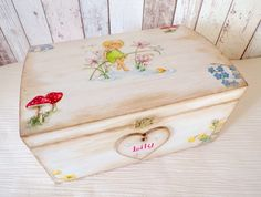 Enchanted forest treasure chest