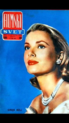 Grace Kelly magazine cover-1962