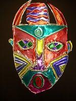 Tin foil mask@Rachael Murkett