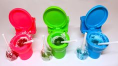 Candy Toilet Toys for Kids Learn Colors