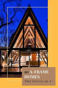 Find out why the simple A-frame is making a big resurgence in home construction design.