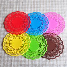 Check out the PVC coaster on mojolavie.com.au, 6 colour set! Only $9.99!