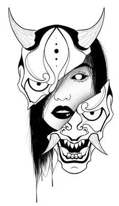 Tattoo Sketches, Tattoo Drawings, Body Art Tattoos, Tatoos, Japanese Tattoo Art, Japanese Tattoo Designs, Black Tattoo Cover Up, Cover Tattoo, Samurai Tattoo Sleeve