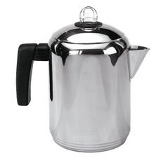 Stovetop Percolator Like Strong Coffee? Stainless Steel Percolator Perks the Heartiest Brew